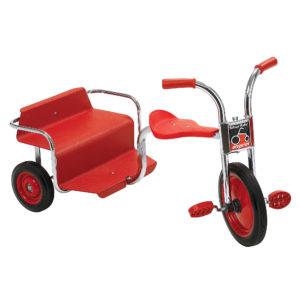 silver rider rickshaw