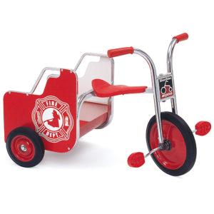 silver rider fire truck