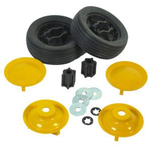 yellow bye bye buggy wheels