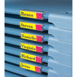 children's cots with name plates