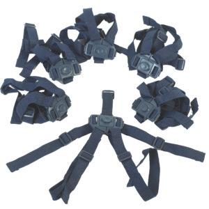 dark blue bye bye buggy harnesses