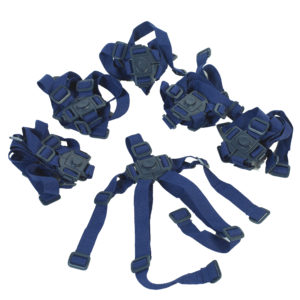 blue bye bye buggy harnesses