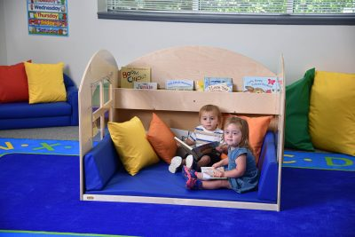 Place Reading Nooks in Corners or Anywhere in a Room