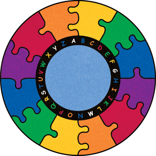 puzzle alphabet carpet