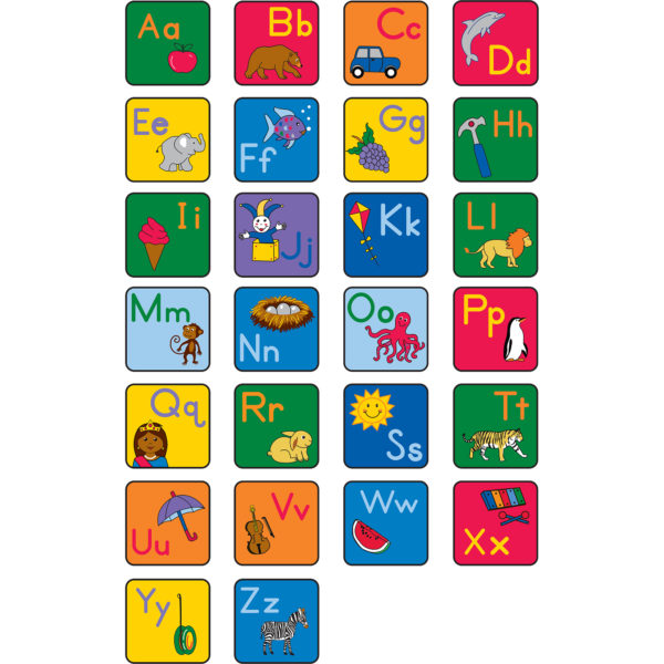 letter carpets for classroom