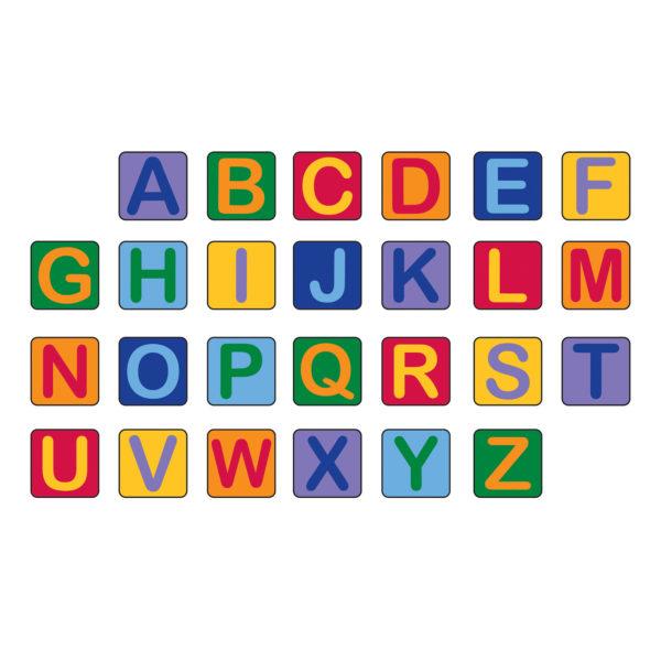 Alphabet Seating Squares