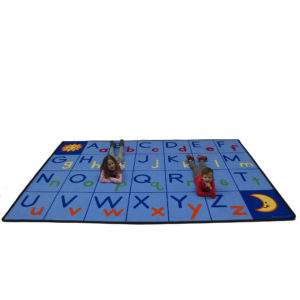 Upper and Lower ABCs learning carpet