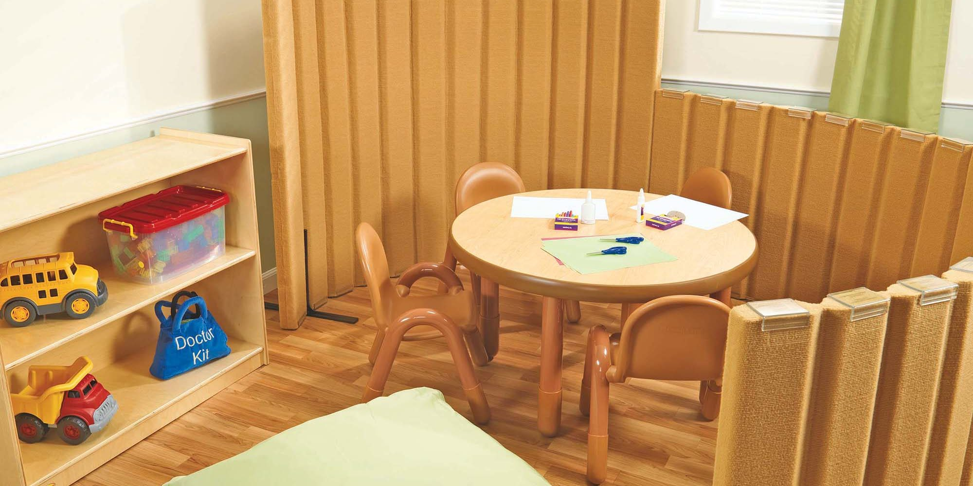 Can Classroom Design Affect Learning - Quiet Dividers with Sound Sponge Helps