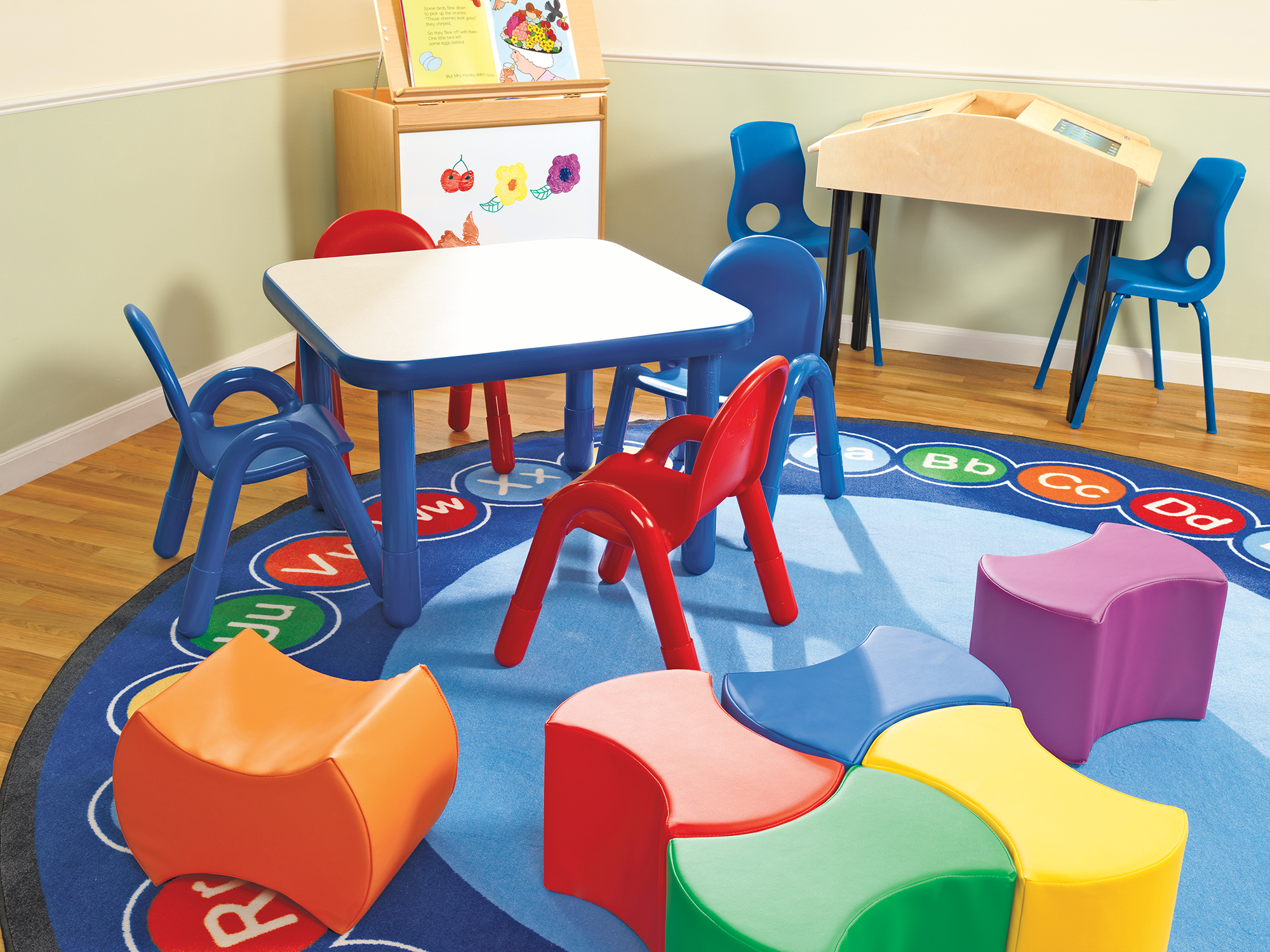Picture of: Abc Rotary Rug Round Large Children S Factory