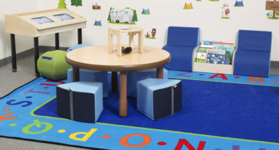 Create a Pull Up A Chair Atmosphere with Flexible Seating