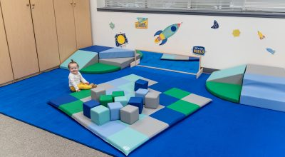 Combine Active Playsets to Transform Corners and Connect Classroom Spaces