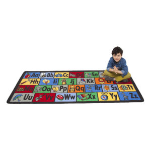 Learn the ABCs learning carpet