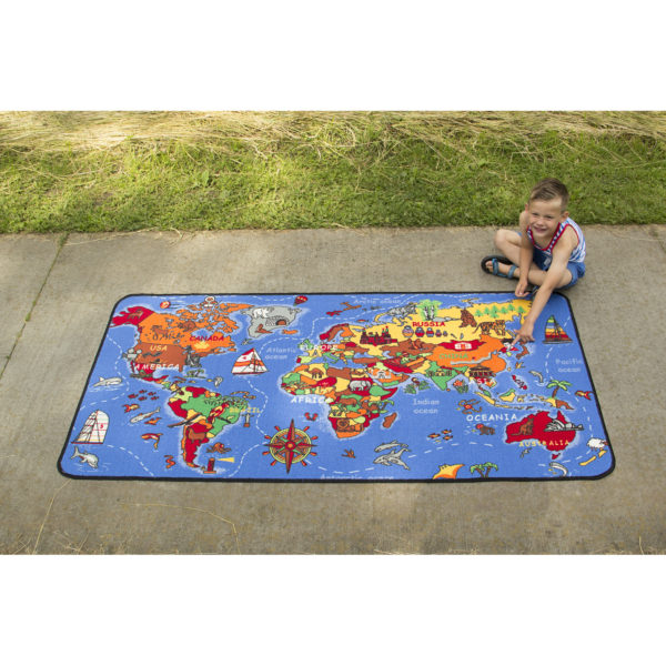 where in the world learning carpet
