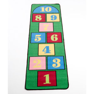 hopscotch learning carpet