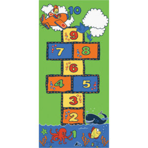 Sea to sky hopscotch carpet