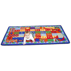 counting and ABCs learning carpet