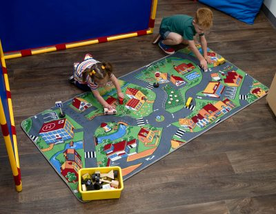 Road Rugs Inspire Learning Through Playing