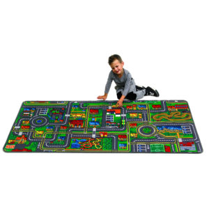 Giant Road map learning carpet