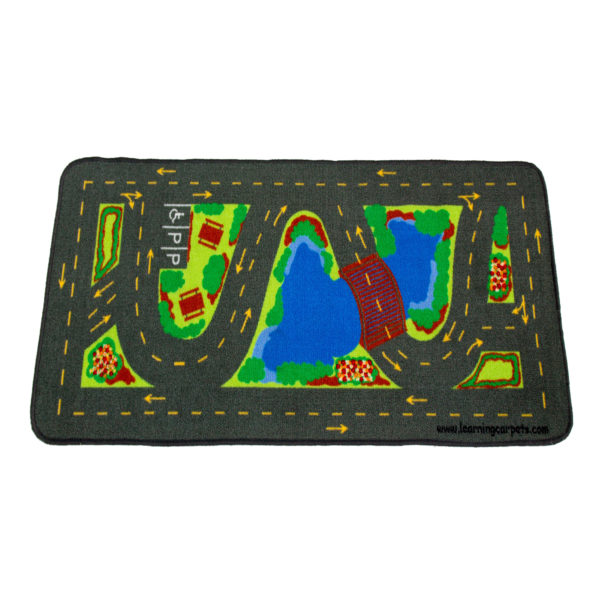 driving in the park learning carpet