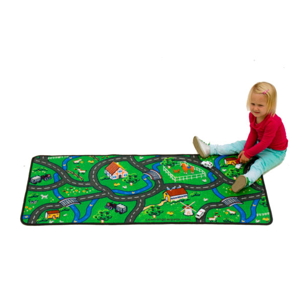 Countryside learning carpet