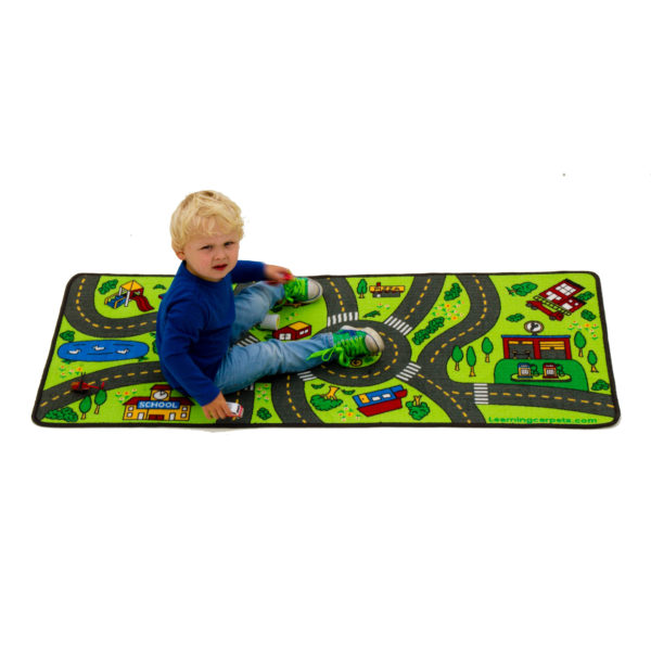 Playful Road learning carpet