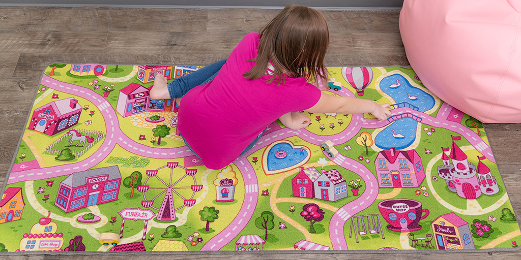 FUNtastic Pretend Play Carpets Take Imaginary Play to the Next Level