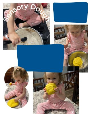 Scented Play Dough Arts and Crafts Are Important for Parental Bonding